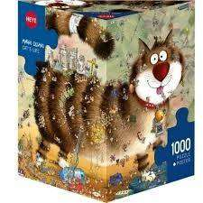 gato rompecabezas puzzle 1000 pzas. cat