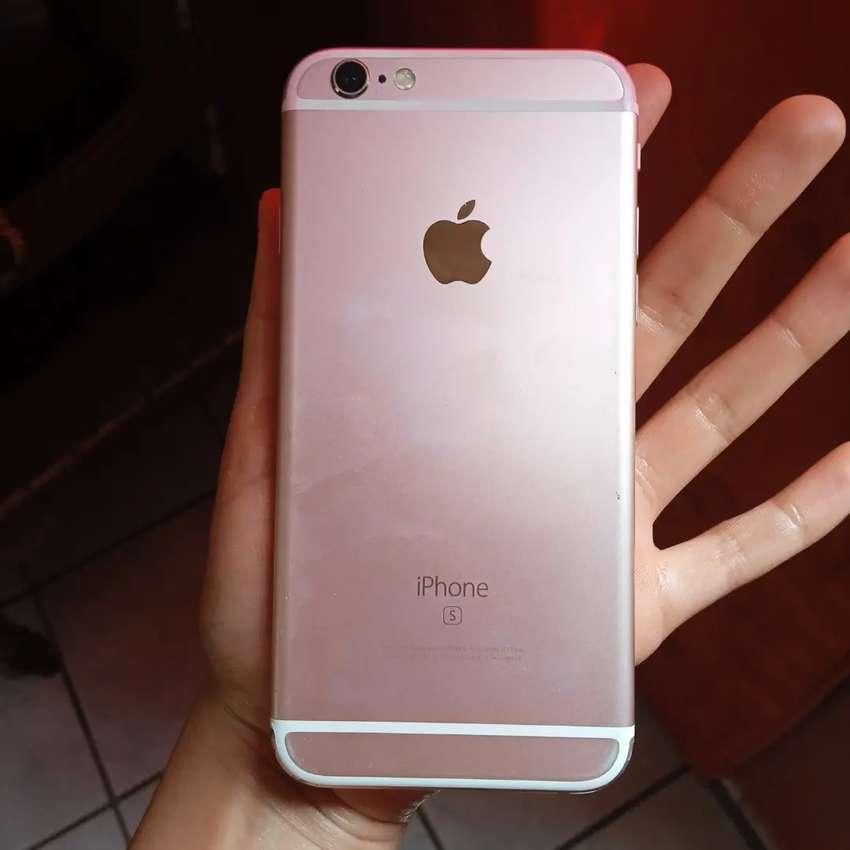 iPhone 6s color rosa oro , excelente estado físico 9/20 funcional 10/10