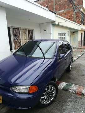 Fiat Palio Edx Motor 1.3 Color Azul 5 Puertas