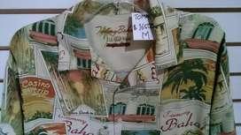 CAMISA TOMMY BAHAMA ORIGINAL Hawaiana.. 100 ..