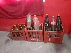 Envases de coca cola