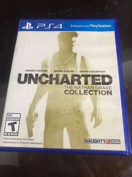 Juego para ps4 Uncharted collection