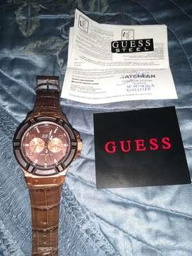 Reloj de Hombre Guess sin detalles