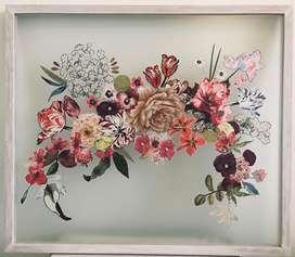 Jardin de flores - collage