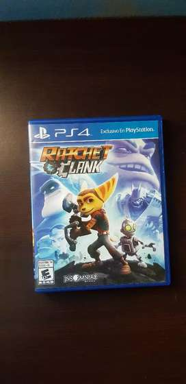 Se vende ratchet and clank ps4