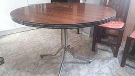 Vendo mesa redonda de formica excelente estado