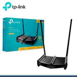 Router Tp-link Tl-wr841hp Wireless 300mbps Alta Potencia