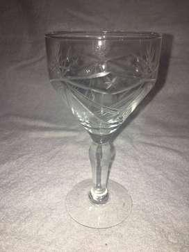 Juego de Copas de Vidrios /Cristal varias