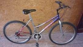 Bicicleta Rodado 26, Con cambios.