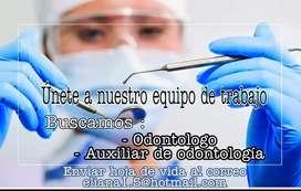 Se requiere odontólogo para consultorio particular en Gachetá Cundinamarca.