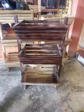 Verdulera de madera