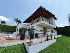 Arrendo Hermosa casa finca vacacional  en unidad residencial campestre