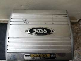 Vendo planta boss 1000 watts y bajo pioneer