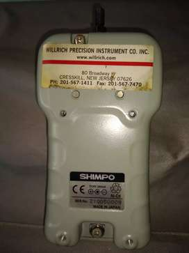 Vendo tacómetro Shimpo Digital Force Gauge FGE 2 X