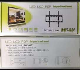 """Soporte fijo hasta 63"""" tv LCD Smart monitor"""