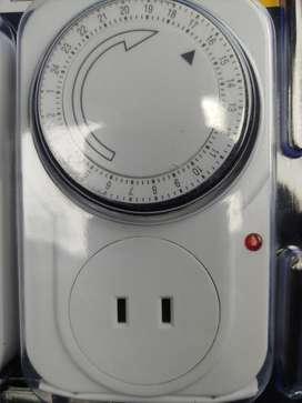 Temporizador Timer para ahorro de Luz y energia electrica