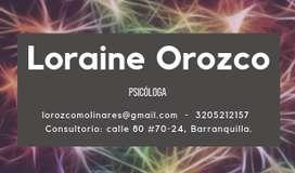 Psicóloga en Barranquilla (servicios de psicoterapia)
