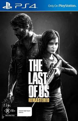 THE LAST OF US REMASTERED PS4.