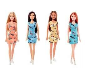 Muñeca Barbie Modelos Surtidos 30 Cm Original