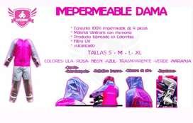 Impermeables o trajes anti fluido garantizados