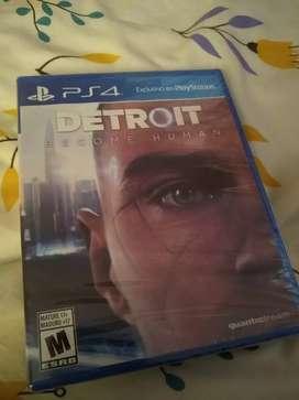 Detroit nuevo y sellado para ps4