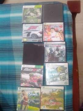 Se venden juegos xbox 360, negociables