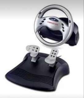 Volante Y Pedalera Speed Wheel 3 Vibrati