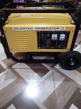 De oportunidad vendo generador 3.500 a gasolina con motor de 6.5 hp nuevo no tiene ni 5 horas de uso solo probadas no ma
