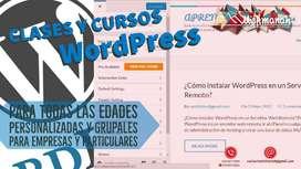 CLASES Y CURSOS WORDPRESS
