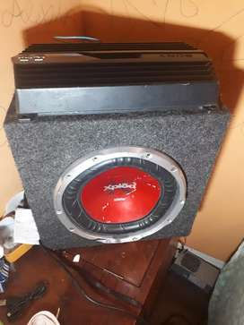 Audio car woofer