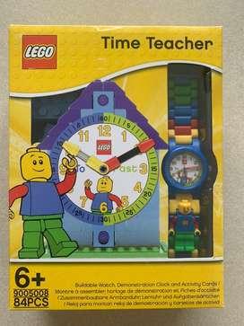 LEGO TIME TEACHER 9005008 - 84 PIEZAS - 100% ORIGINAL, USADO PERO MUY POCO