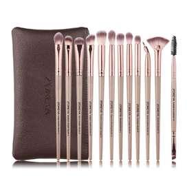 Brochas Zoreya 12 piezas Set de maquillaje