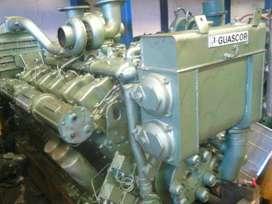 MOTOR MARINO ESTACIONARIO GUASCOR 12 CILINDROS 900 HP