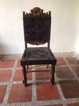 Comedor luis XV y sillas antiguas