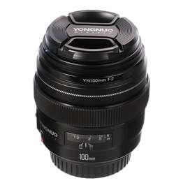 Lente Yongnuo 100 mm f/2 para Canon