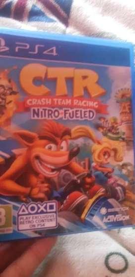 Crash car team racing