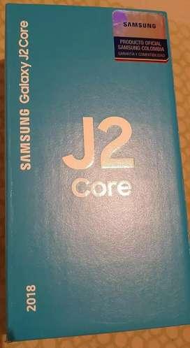 Vendo teléfono SAMSUNG Galaxy J2 Core Nuevo en caja