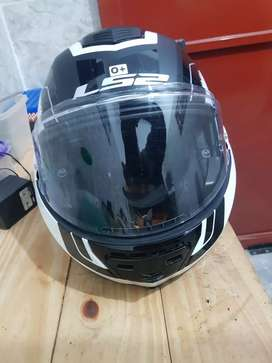 Vendo casco ls2 valliant rebatible