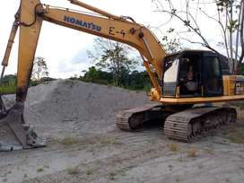 Excavador Komatzu