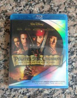 Pirates Of The Caribbean 1 Blu-ray