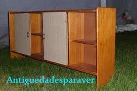 Repisa / Alacena / estante mueblecito Diseño Retro Vintage 60s incompleta Hay 15 mas antiguedadesparaver