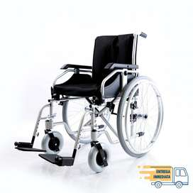 Silla de ruedas en aluminio Coyote