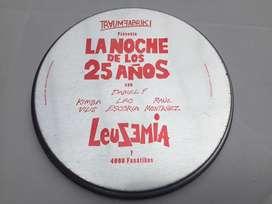 Leuzemia Daniel F en Lata - Dvd La Noche de los 25 Años