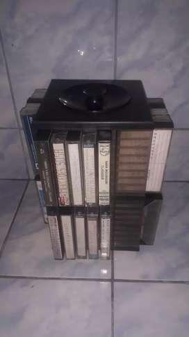 Cassettes de Audio con música Variada