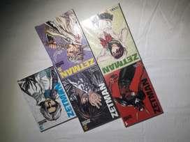 Lote Zetman manga