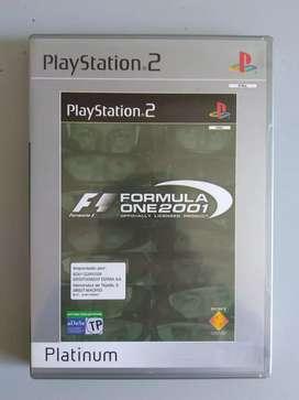 F1 Formula One 2001 Platinum Original Sony Playstation2