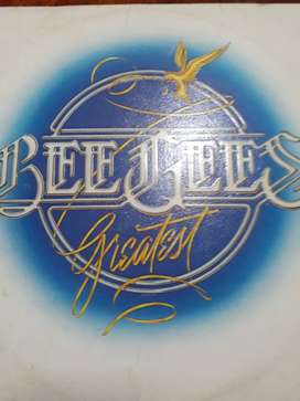 Bee Gees Greatest Vinilo Lp Doble Tapa Trifold 1979 Excelent