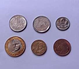 Brasil monedas antiguas