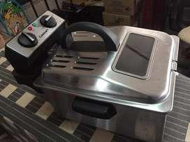 Freidora cuisinart 4-quart deep fryer