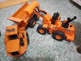 juguetes camión y excavadora gigante columbus